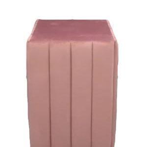 pink velvet plinth