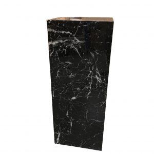 black marble acrylic plinth edited
